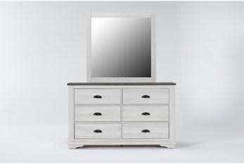 Cora White Dresser/Mirror