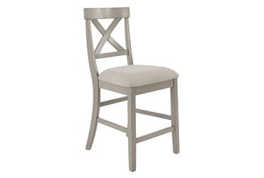 "Loratti Upholstered 24"" Counter Stool"