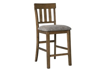 Garth Upholstered 26 Inch Counter Stool Set Of 2