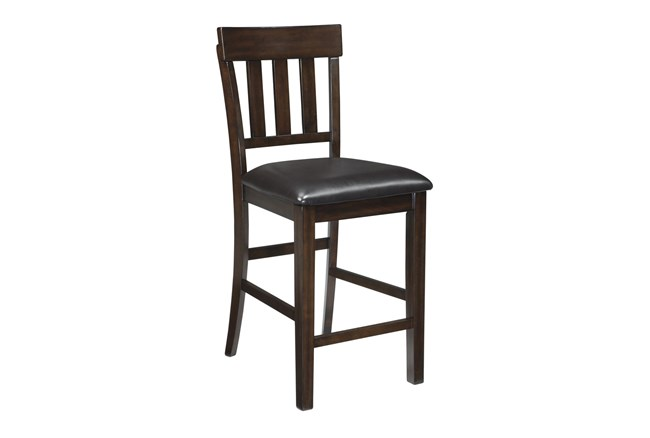 Hinnsdale Upholstered 26 Inch Counter Stool Set Of 2 - 360