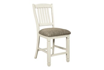 """Knollwood Upholstered 24"""" Counter Stool"""