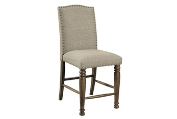 Lacey Upholstered 25 Inch Counter Stool Set Of 2