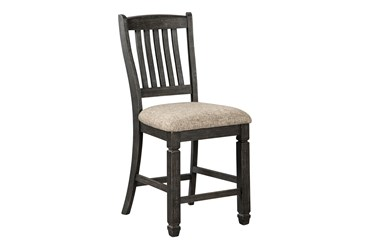 Leland Upholstered 24 Inch Counter Stool Set Of 2
