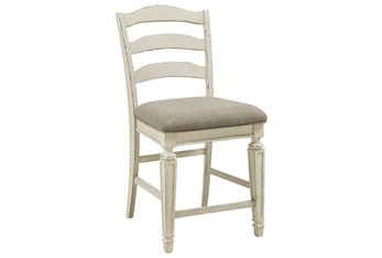 Maddie Upholstered 24 Inch Counter Stool Set Of 2
