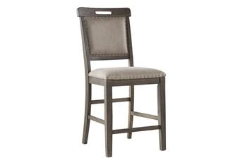 Eden Upholstered 24 Inch Counter Stool Set Of 2
