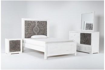 Mija Full 4 Piece Bedroom Set
