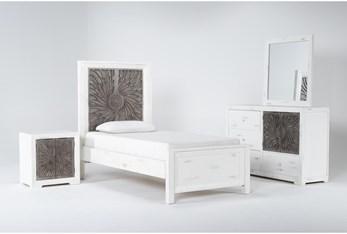Mija Twin 4 Piece Bedroom Set