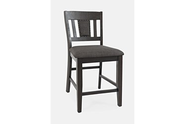 Henley Upholstered 24 Inch Counter Stool