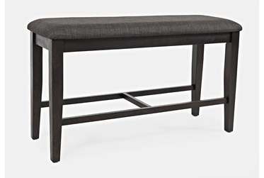 Henley Upholstered Counter Bench