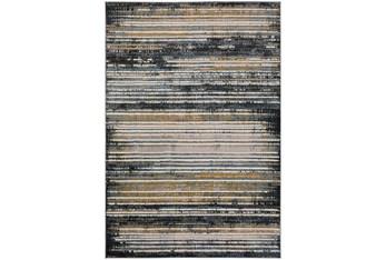 Rug-8'X10' Olson Stripe Grey/Gold