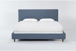 Dean Jean Eastern King Upholstered Panel Bed