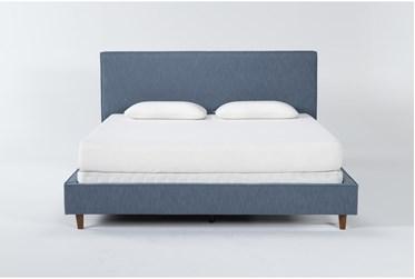 Dean Jean Full Upholstered Panel Bed