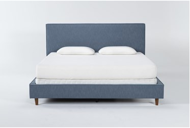 Dean Jean Queen Upholstered Panel Bed