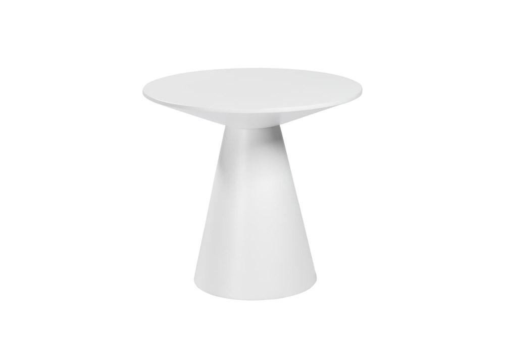 Revello Matte White End Table