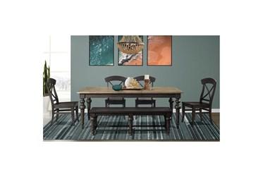Harper 6 Piece Rectangle Dining Set