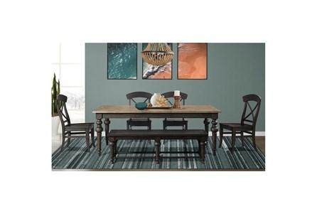 Harper 6 Piece Rectangle Dining Set - Main