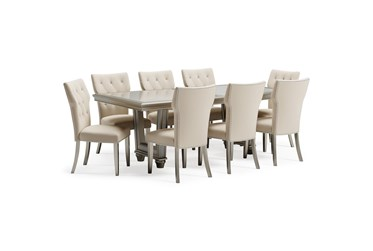 Chevanna 9 Piece Rectangle Dining Set