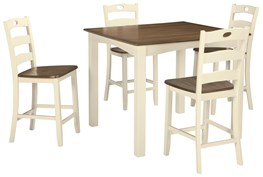 Woodanville 5 Piece Counter Set