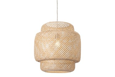 19X20 Natural Woven Chandelier