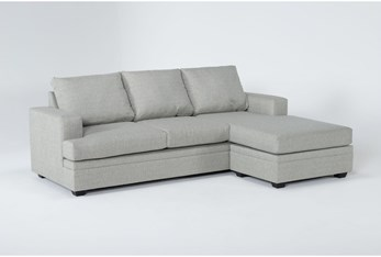 """Misty 97"""" Sofa With Reversible Chaise"""
