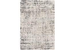 5' X 8' Rug-Abstract Plush Shag Greys