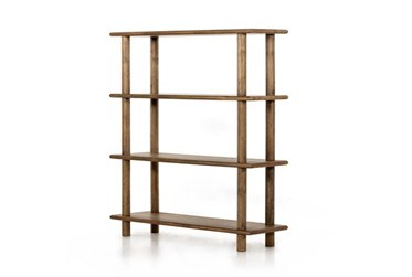 Toasted Natural Dowel Frame Bookcase