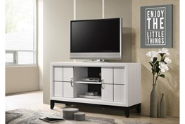 Finley Optic White Tv Stand