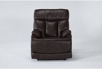 Clive Brown Power Lift Recliner With Power Headrest And Lumbar
