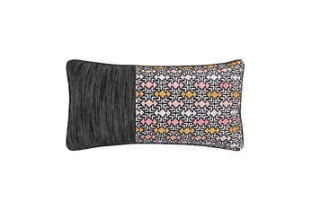 12X24 Tribal Embroidered Pillow