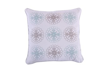 18X18 Decorative Embroidered Pillow