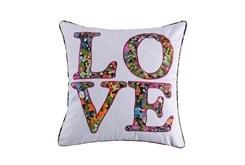 20X20 Floral Love Pillow