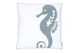 18X18 Decorative Seahorse Pillow