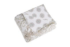 Quilted Reversible Throw Medallion to Mini Medallion