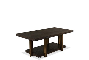 Bowie Coffee Table With Casters