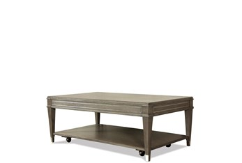 Amery Coffee Table with Casters
