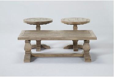 Caden 3 Piece Coffee Table Set