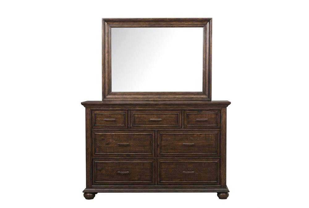 Channing Brown Dresser/Mirror