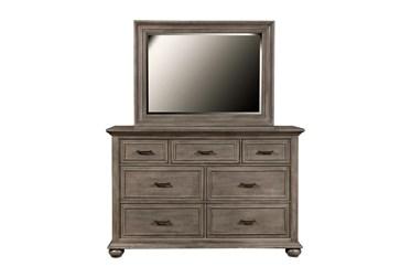 Channing Grey Dresser/Mirror