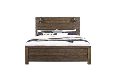 Kota Eastern King Panel Bed