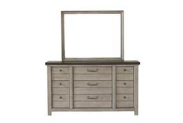 Fran Grey Dresser/Mirror