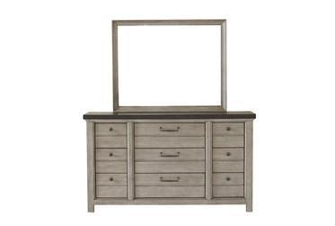 Fran Grey Dresser