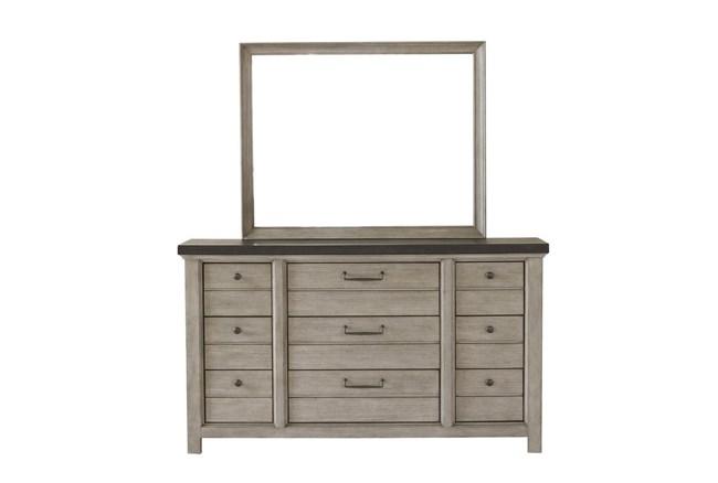 Fran Grey Dresser - 360
