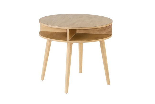 Magnolia Home Era Round Accent Table By Joanna Gaines - 360