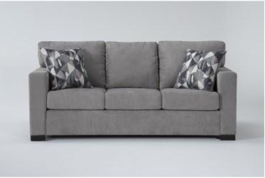 """Carbondale Light Grey 84"""" Queen Sleeper Sofa"""