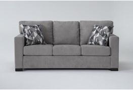 "Carbondale Light Grey 84"" Sofa"