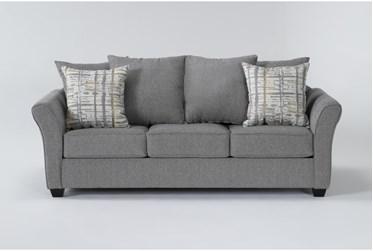 """Salsalito Stone 86"""" Queen Sleeper Sofa"""