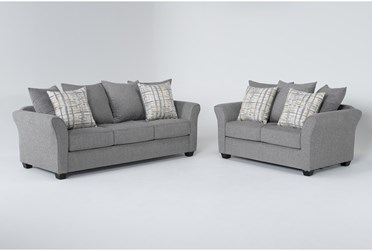 Salsalito Stone 2 Piece Living Room Set With Queen Sleeper