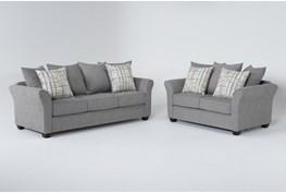 Salsalito Stone 2 Piece Living Room Set