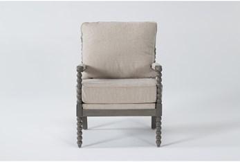Abbot Linen Accent Chair
