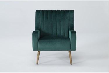 Cassia Emerald Green Accent Chair
